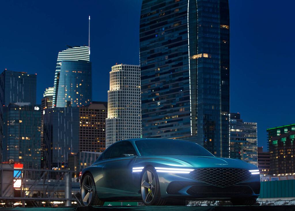 El Genesis X Concept es un gran turismo eléctrico tan espectacular que el grupo Hyundai debería fabricarlo en serie