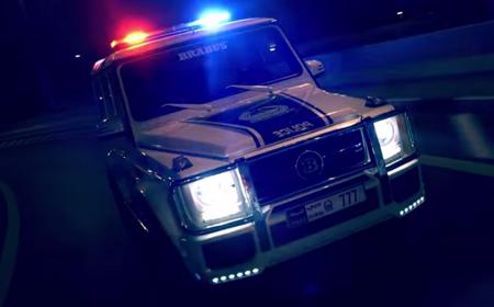 La excéntrica policía de Dubái en video. ¿Fantasía o realidad?