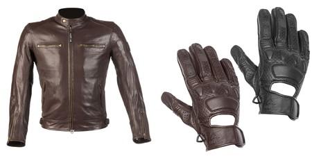 Para los más cool, conjunto de chaqueta y guantes By- CiTy para ir ideal y en verano