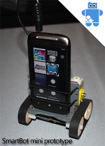 Smartbot Mini: Un robot que funciona con Windows Phone 7