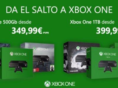 La Xbox One baja de precio en nuestro país. A partir de mañana estará por 349,99 euros