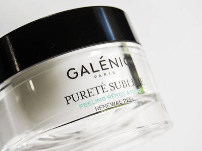 Probamos el peeling renovador Pureté Sublime de Galénic
