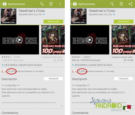 Google Play +1
