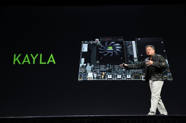 NVidia roadmap GPU