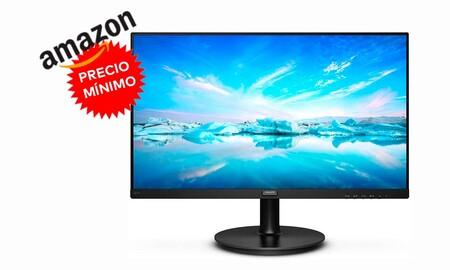Precio mínimo en Amazon: un económico monitor de PC como el Philips V Line 221V8A/00 ahora más barato todavía por sólo 79,99 euros