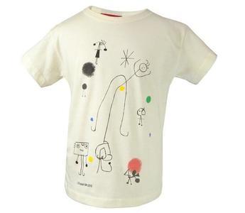 Camisetas infantiles inspiradas en Miró, ¿nos atrevemos a hacer las nuestras?