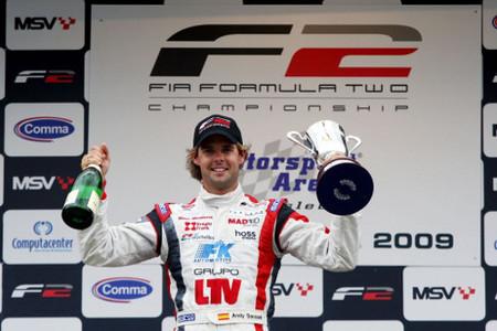Andy Soucek puede estar ante la mejor oportunidad de subir a la Fórmula 1