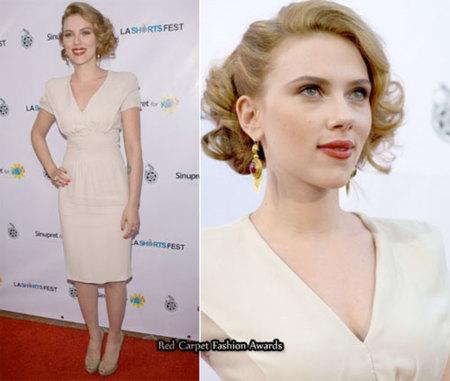 El estilo vintage de Scarlett Johansson