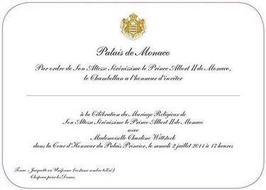 La increíble lista de invitados al bodorrio en Mónaco (no, Poprosa no está)
