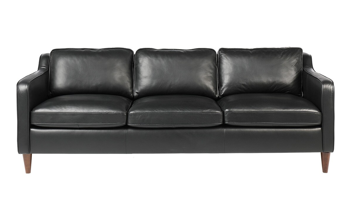 Sofá de piel de 3 plazas