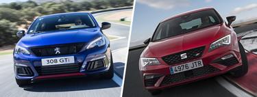 SEAT León CUPRA vs. Peugeot 308 GT by Peugeot Sport, ¿cuál es el hot-hatch definitivo?