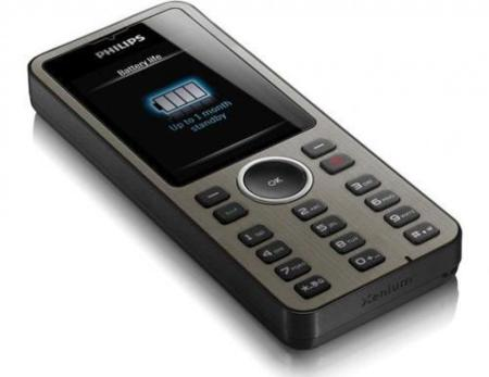 Philips X312, con una batería que aguanta un mes en espera
