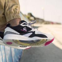 El guiño surfero en las sneakers R800 de Le Coq Sportif