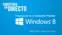 Seguimiento del evento Windows 8 Consumer Preview en directo