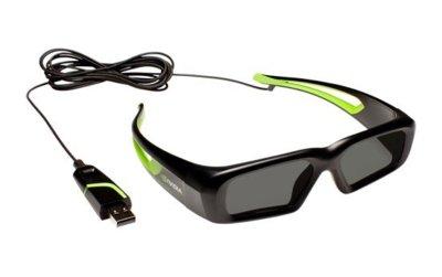 NVidia quiere comerse el 3D: gafas 3D Vision más baratas pero con cable