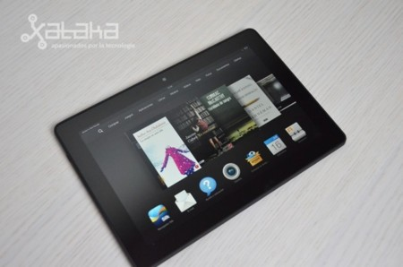 Kindle Fire HDX carrusel