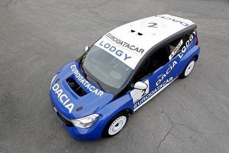 Dacia presenta su nuevo modelo para el Trofeo Andros. El Lodgy