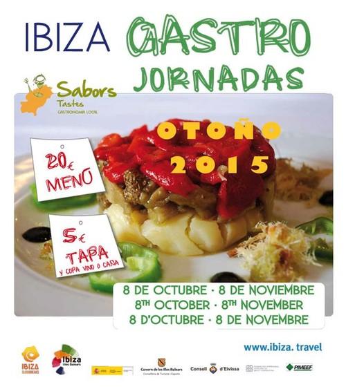 Estos son tres de los menús que podéis degustar en las #GastroJornadasOtoño2015 de Ibiza