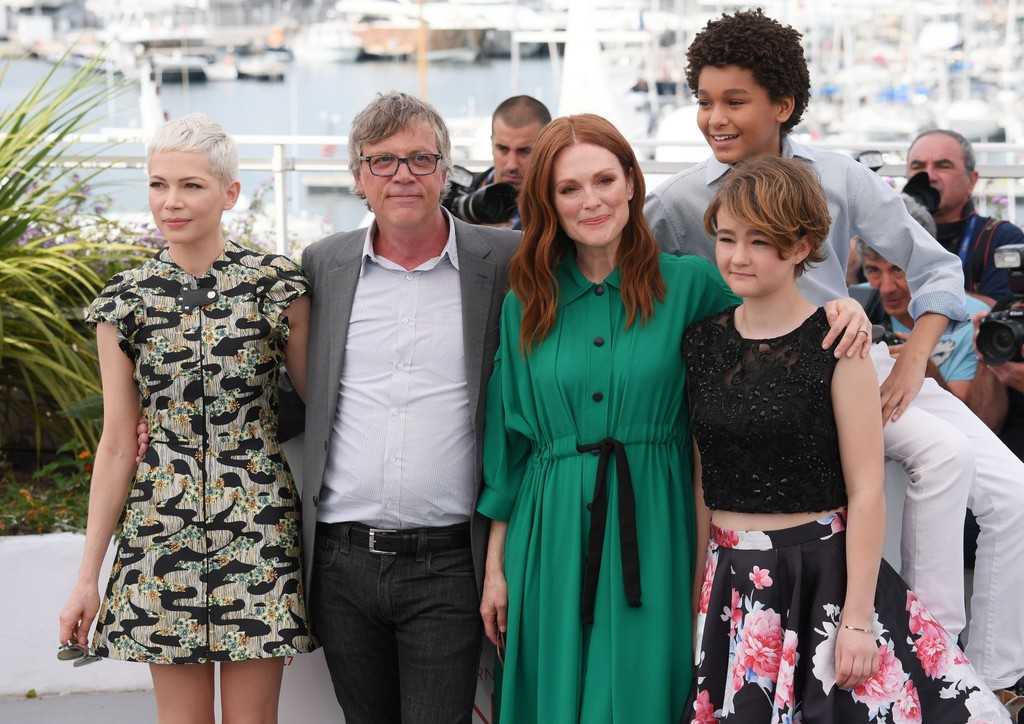 Todd Haynes con los actores de Wonderstruck