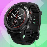 El chollo del día en relojes Amazfit es este Stratos 3: Amazon lo tiene a precio mínimo por sólo 119,99 euros
