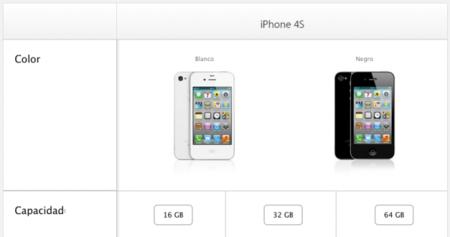 Diferentes iPhone 4S