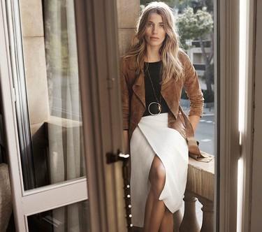 Veronika Heilbrunner es la nueva musa de Massimo Dutti en un lookbook perfecto para esta primavera 2016