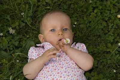 ¿Por qué los bebés solo respiran por la nariz?