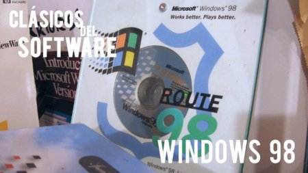 Windows 98. Clásicos del software (VII)