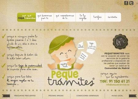 Pequetrámites es una gestoría que ayuda a las familias con los trámites administrativos relacionados con el nacimiento de un bebé