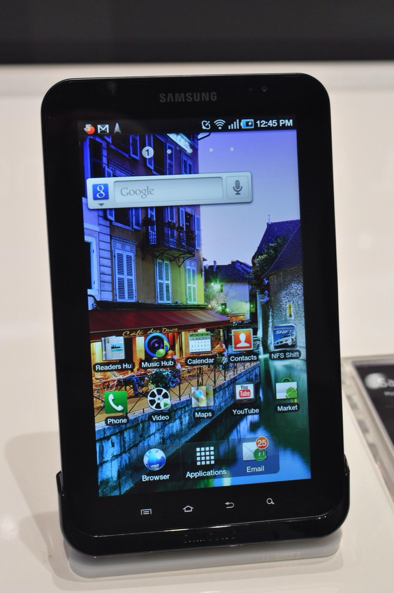 Foto de Samsung Galaxy Tab (primeras impresiones) (1/32)