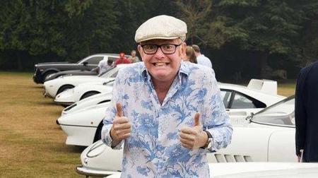 Chris Evans, coleccionista de Ferrari
