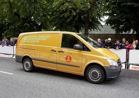 El servicio postal de Dinamarca adquiere 50 Mercedes-Benz Vito eléctricas