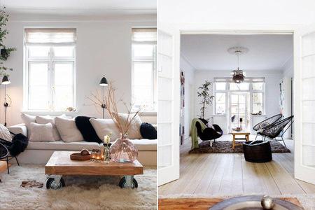 Detalle apartamento danés