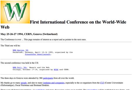 Conferencia WWW (1994)