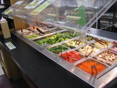barra de ensaladas