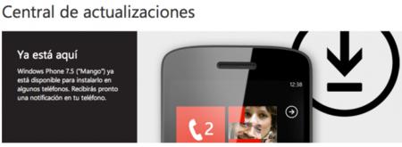 Windows Phone 7.5 'Mango' ya está disponible
