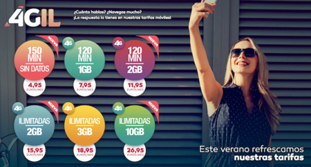 Ocean's también entra en la pelea de las tarifas móviles: más llamadas y datos por el mismo precio