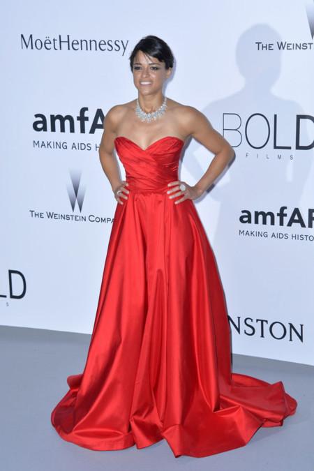 Michelle Rodriguez Amfar Cannes 2015