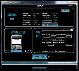 ViO, el conversor de vídeo de ThePirateBay