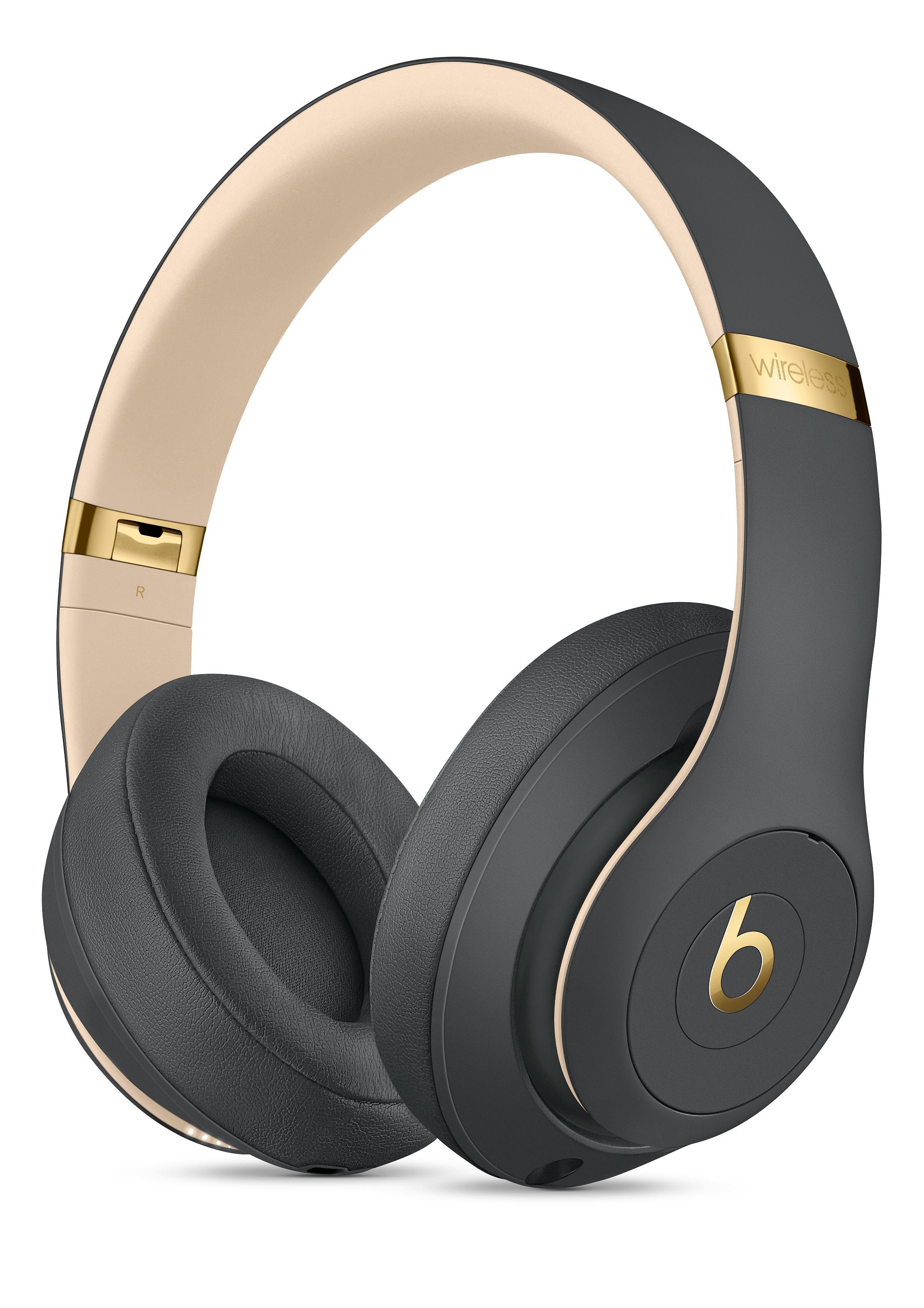 Audífonos on-ear Beats Studio3 Wireless con cancelación de ruido y chip W1 - Negro Noche