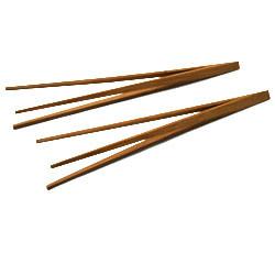 Palillos para comer de tres patas