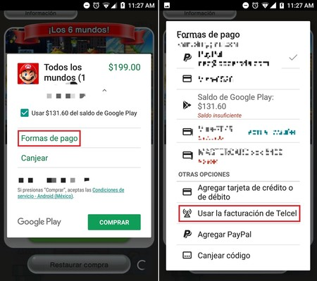 Comprar Apps Google Play Store Mexico Telcel