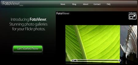 FotoViewr: tu galería de Flickr en tres dimensiones