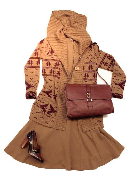Foto de Mango Otoño-Invierno 2010/2011: apúntate a la moda de los colores camel y teja (1/5)