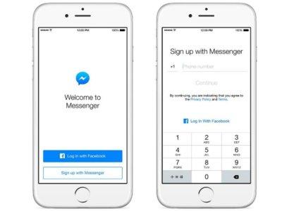 Facebook Messenger se emancipa: Ya no necesitarás cuenta en Facebook para utilizarlo