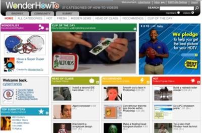 WonderHowTo, los mejores video tutoriales de la red desde un único lugar