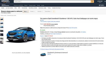 Amazon Opel Grandland X