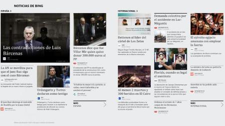 Noticias Modern UI