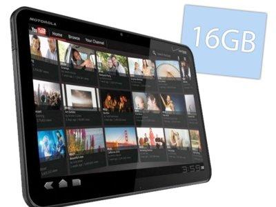 Motorola Xoom con 16GB para dar un empujón a las ¿bajas ventas?