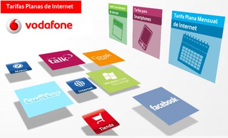 Un repaso a las tarifas Planas de internet en el móvil de Vodafone